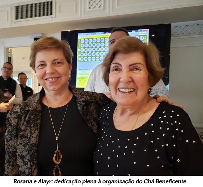 Alayr e Rosana: dedicação plena à organização do Chá Beneficente
